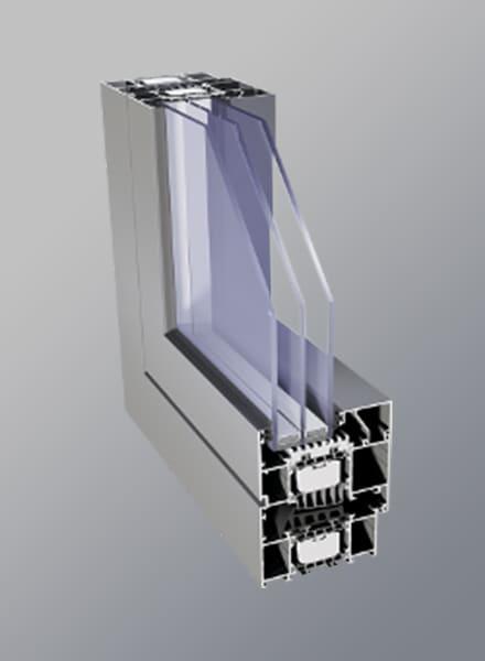 Okna Lux ALU