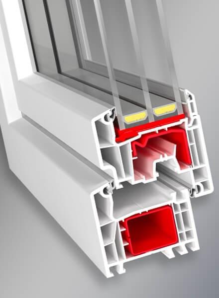 Okna Standard PVC