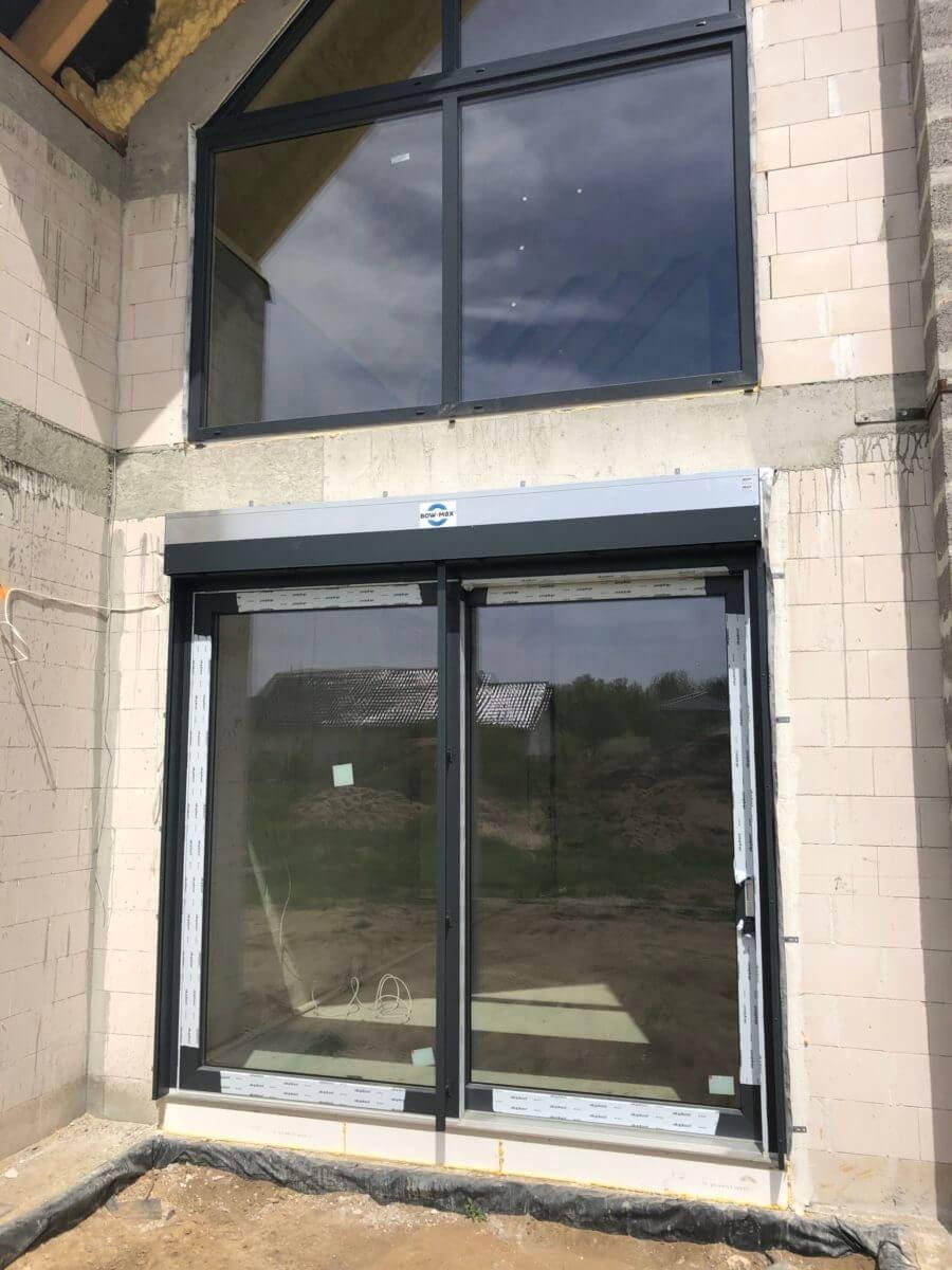 okna na wysokość ściany