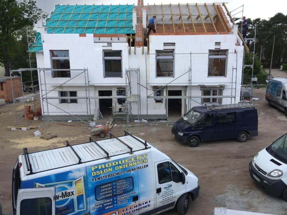 bow max przy budowie domu