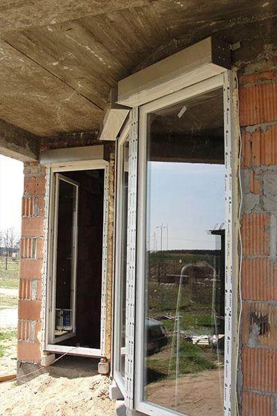 okna w nowym domu